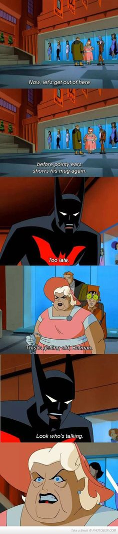 Burned By Batman