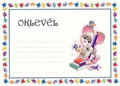 nyomtatható oklevél gyerekeknek - Google keresés Behavior Interventions, Kids Vector, Special Education, Graphic Art, Crafts For Kids, Preschool, Presents, Clip Art, Make It Yourself