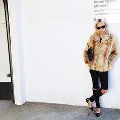 fur (faux i hope) coat goals