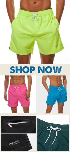 Shitters Full Mens Classic Summer Shorts Casual Swim Shorts with Pockets