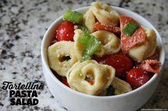 Tortellini Pasta Salad   Mix and Match Mama