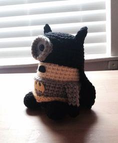 Batman Minion PDF Pattern Crochet for Amigurumi Doll Plush by JAMigurumi on Etsy