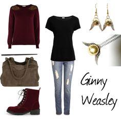 """Ginny Weasley"" by winterlake25 on Polyvore"