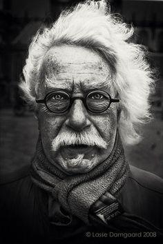 Black. White. Photography. Portrait.