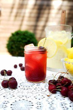 Cherry Bourbon Lemonade – IVGreenhouse - Exploring Food