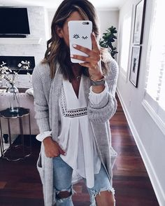 This free flow eyelet lace tunic is perfect for layering. I love pairing it with a long cozy cardigan and ripped jeans. Perfect weekend style. I hope you guys love my collection as much as I do! Thanks for following along today! -Becky @cellajaneblog #TCxCellaJane
