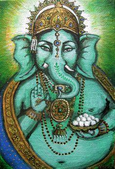 Ganesh by KamaliOm.deviantart.com