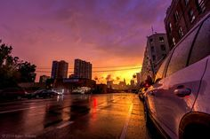 Sunset in the City on Etsy, $15.00