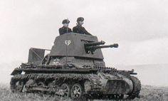 4,7 cm Pak (t) (Sfl) on Pz.Kpfw. I (Sd.Kfz.101) (ohneTurm)