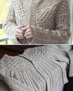 Knitting Patterns Free, Free Knitting, Free Pattern, Cardigan Pattern, Knit Cardigan, Lace Clothing, Baked Turkey, Lace Outfit, Beautiful Patterns