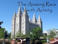 { Mormon Share } Amazing Race Youth Activity