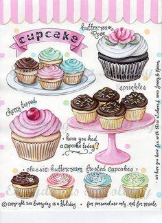 Tartas, Galletas Decoradas y Cupcakes: Mundo Cupcake
