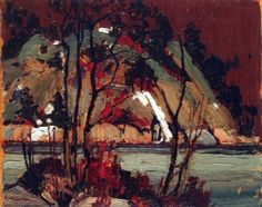 Early Spring in Cauchon Lake - Tom Thomson - The Athenaeum