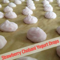Frozen Chobani Yogurt Drops: a frosty treat to help ya through August.