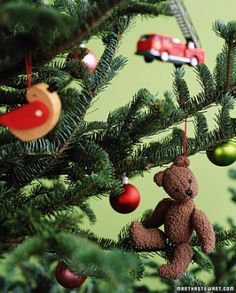Toy Ornaments. It's a way to keep some memories of their younger days, while letting most of the toys go.