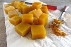 Dados de gelatina con miel y cúrcuma: ¡Maravilloso remedio antiinflamatorio!