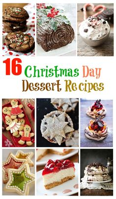 If you're looking for a little inspiration for after your Christmas lunch. Here are 16 awesome Christmas Day Dessert Recipes that are easy to make at home.