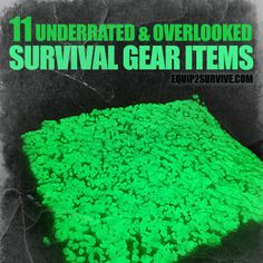 """11 Underrated & Overlooked Survival Gear Items! We are familiar with """"Swiss Army"""" knives, Leatherman multitools, MREs and paracord """"survival"""" bracelets, but what are some less conventional survival gear items that could really make nice additions to your packs and kits? Check out the list!"""