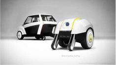 Disassembling Electric Vehicles - The Remora Concept Car Can be Taken Apart to Charge (GALLERY)