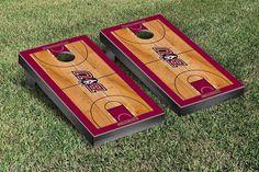 Bloomsburg Huskies Basketball Court Cornhole Game Set