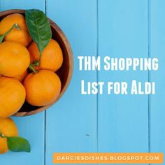 Darcie's Dishes: Trim Healthy Mama Aldi Shopping List