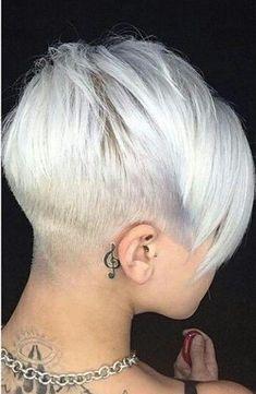 aeb47febfb17 De 107 bedste billeder fra Hair Cut s Woman ♀