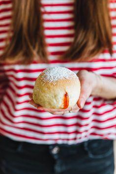 Vegane Berliner aus dem Ofen · Eat this! Foodblog • Vegane Rezepte • Stories