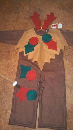 disfraz de reno navideño
