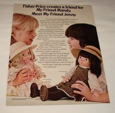 Mandy and Jenny Dolls. i had the jenny doll (of course). these ...