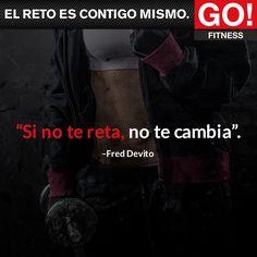 Fred Devito. #gofitness #clasesgo #ejercicio #gym #fit #fuerza #flexibilidad #reto #motivate #freddevito