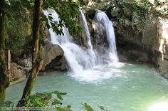 Mag-aso Falls in Bohol, Philippines