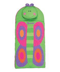 Look at this #zulilyfind! Butterfly Personalized Nap Mat #zulilyfinds