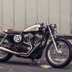 Bikes Of The Week: 3 February, 2019 Sportster cafe racer by Deus ex MachinaSportster cafe racer by Deus ex Machina Sportster Cafe Racer, Harley Davidson Sportster 1200, Harley Davidson Bikes, Sportster Parts, Cb750 Cafe, Scrambler, Cafe Bike, Cafe Racer Bikes, Cafe Racers