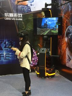 #VR#VR games# We continually work to develop VR games machines together with VR equipments to offer game players a different new experience. LEKE Explorer is one of our popular items. having 100 games for selection including horror, adventure, shooting, sports and so on. Most of which are free and can update anytime. Let's fight with the zombies!