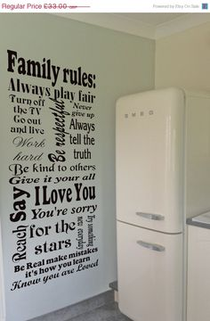 Hey, I found this really awesome Etsy listing at https://www.etsy.com/listing/114536759/on-sale-15-off-family-rules-wall-decal
