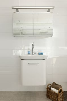 Kotimyymälässä pääset katsomaan uuden kotisi kylpyhuonekalusteita. Miltä hana näyttää asennettuna, valitsenko peilikaapin vai tasopeilin. Toilet, Vanity, Bathroom, Dressing Tables, Washroom, Flush Toilet, Powder Room, Bathrooms, Litter Box