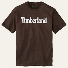 Shop Timberland for men's tees. These logo t-shirts are perfect worn alone or as a baselayer.