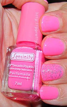 Pretty, Pretty Please!: Usei - Verniz Sensinity nº 73 Fresa