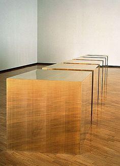 Donald Judd - Minimal Art what? Instalation Art, Design Art, Interior Design, Art Moderne, Box Art, Contemporary Art, Art Photography, Furniture Design, Art Furniture
