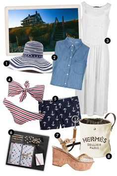 Vacation Outfit Ideas - Vacation Packing List - Elle