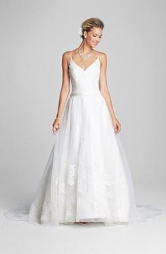 'Reid' wedding dress by Kelly Faetanini, available to order in Nordstrom Wedding Suites