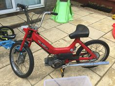 1980 Puch Maxi N, Garage Find, Nice Project