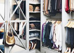 "9 Tips for Spring Cleaning Your Closet (including saying goodbye to things that don't bring you joy and ""thanking"" things you no longer need)"
