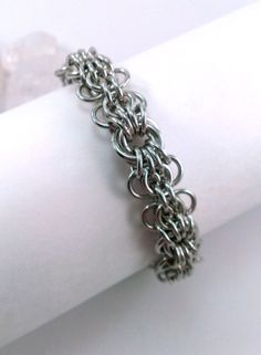 Butterfly Chainmaille Bracelet by GypsyGrove on Etsy, $18.00