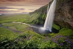 This is one of the more iconic falls in Iceland - By John & Tina Reid