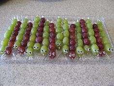 The Bug Hunt: Caterpillar Grapes for Kids Bug Party
