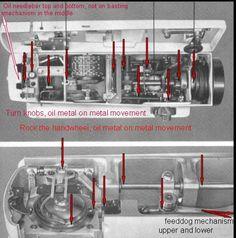 Sewing Machines >> Bernina 830, 930 series maintenance