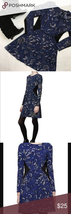 "THAKOON for DesigNation paisley dress. Sz 8 The waist detail on this dress is extremely flattering. Long sleeve and great for fall. Layer with tights and boots! THAKOON for DesigNation. Blue paisley A-line dress. Shoulder to front center hem: 36"". Waist: 14.5"". Chest: 17"". Thakoon Dresses"