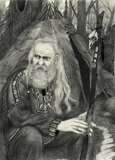 Nordic Shaman by IlmarinenKowal.deviantart.com on @deviantART