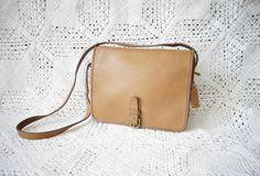 Vintage Rare 1970s Classic Shoulder Leather by WayOutWestVintage
